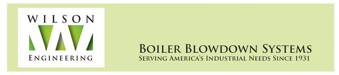 Wilson Engineering     Boiler Blowdown Systems Logo